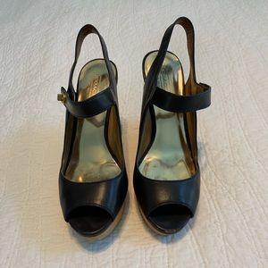 Coach Wooden platform sandals